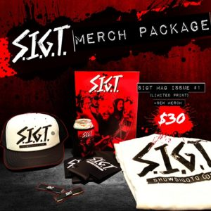 SIGT Magazine merch